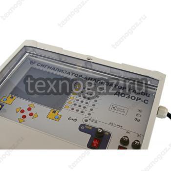 Сигнализатор-анализатор газа Дозор-С-Ц - вид сверху