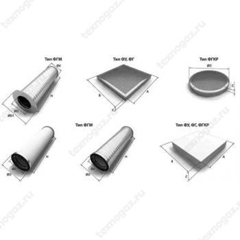 Фильтроэлементы плоские и цилиндрические для ГРП и ГРС фото 1
