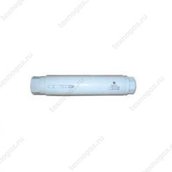 Фото компенсатора аксиального резьбового с наружной защитой и внутренней вставкой