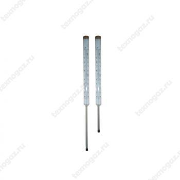 Фото термометра 240мм/163мм прямого стеклянного технического ртутного