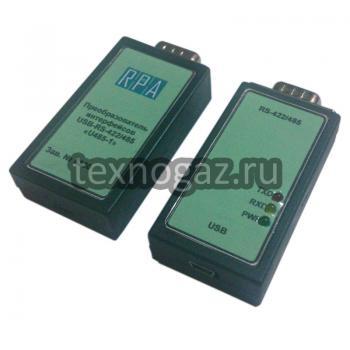 Преобразователь интерфейсов USB-RS-422/485 - фото