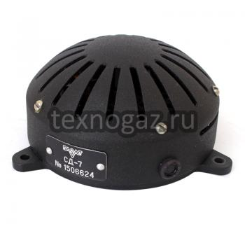 Сигнализатор СД-7 - вид сзади