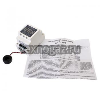 Амперметр-реле тока АРТ-100 и инструкция
