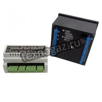 Многофункциональный контроллер МР-200 - вид сзади