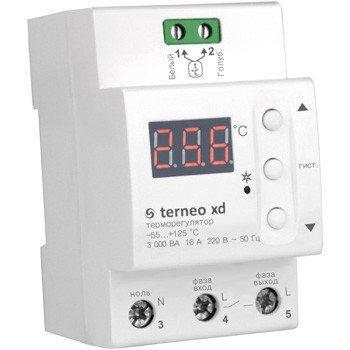 Реле температуры для холодильной техники и вентиляции terneo xd фото 1