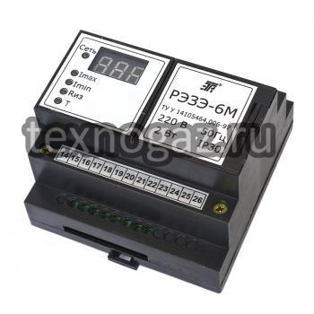 Реле электронное защиты электродвигателей РЭЗЭ-6М - фото