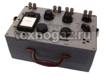Потенциометр постоянного тока ПП-63 - вид сверху