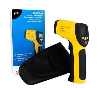 Пирометр лазерный цифровой Temperaturecontrol IR-101450