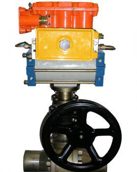 Привод пневматический для крана типа ППК-1  фото 1