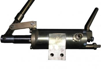Ручной дублер привода шарового крана  фото 1