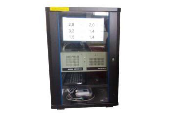 Фото шкафа управления системы Вибротест-6