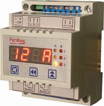 Фото Устройство контроля параметров трехфазной электросети УЗ2-Т