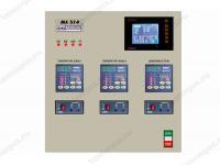 Фото системы контроля и управления МЛ 514