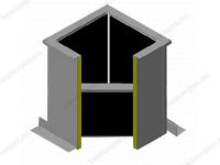 Стаканы монтажные с шумоглушением серии СТАМ 610 фото 1