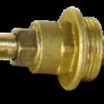Вентильные головки латунные для вентилей 15Б 3р для воды и пара без маховика