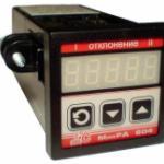 Регулятор температуры МикРА 604 ajnj1